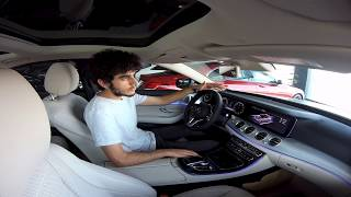 2019. The review of Mercedes-Benz E200 in Erbil. 4K!