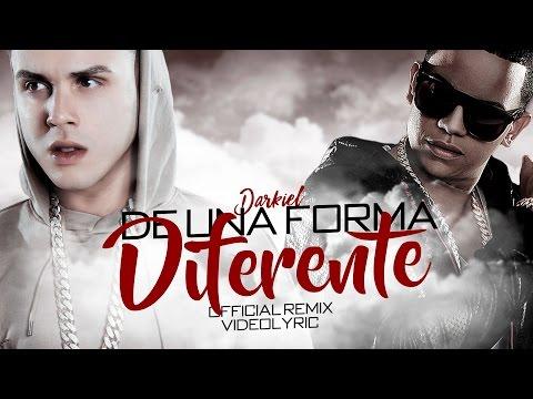 Darkiel Ft J Alvarez - De Una Forma Diferente Remix (Official Video Lyrics)