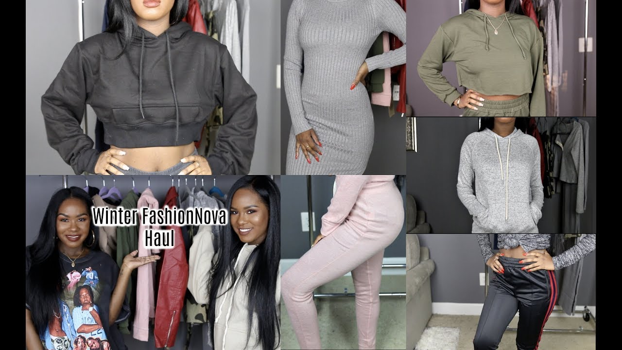 Fashion Nova Winter Haul 2018 Try On Youtube