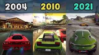 Asphalt 1 to Asphalt 9 : Legends - Evolution of Asphalt Games