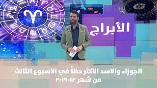 الجوزاء والاسد الاكثر حظاً في الاسبوع الثالث من شهر 12-2019