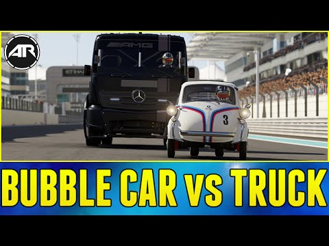 Forza 6 Online : BUBBLE CAR vs RACING TRUCK!!!