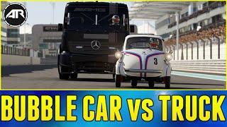 Forza 6 Online : BUBBLE CAR vs RACING TRUCK!!!