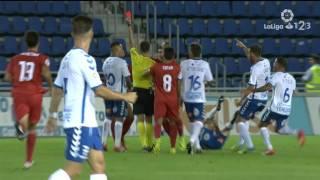 Resumen de CD Tenerife vs Sevilla Atlético (1-1)