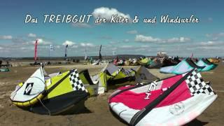 "Strandsegelrevier La Franqui - ""TREIBGUT"" 4 - Les Coussoules/France - Strandsegeln & Kiten 2012"