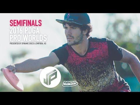 2016 PDGA Pro Worlds Semifinals | Wysocki,McBeth,Locastro,Colglazier