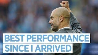 """""""BEST PERFORMANCE SINCE I ARRIVED"""" I Guardiola Post Match Press Conference I Man City 7-2 Stoke City"""