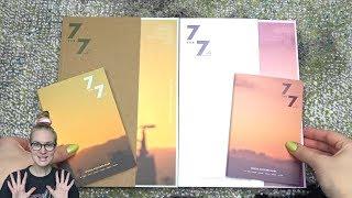 Unboxing GOT7 갓세븐 7th Korean Mini Album 7 FOR 7 (Golden & Magic Hour Edition)