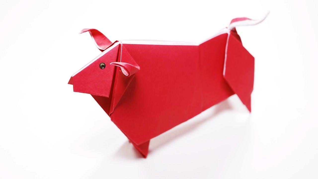 Origami Bull by Origamikuenstler on DeviantArt | 720x1280