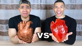 GUMMI ESSEN vs ECHTES ESSEN !!! | PrankBrosTV
