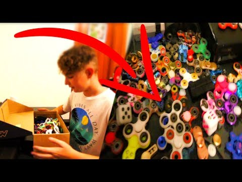Thumbnail: MI COLECCION DE SPINNERS *Extremo* (vlog 42)