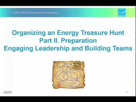 Organizing an Energy Treasure Hunt Part 2