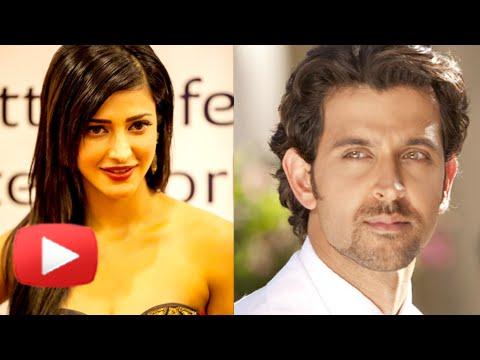 Hrithik Roshan to Romance Shruti Hasan?- Find Out!