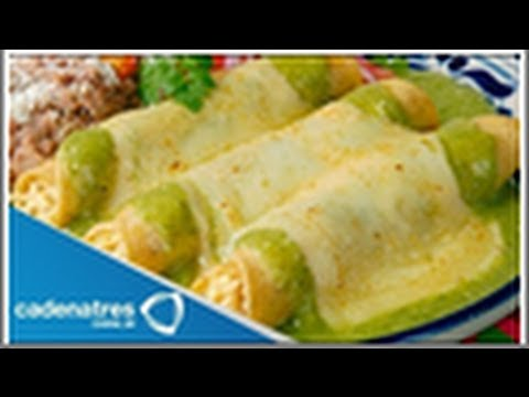 Recipe: Rich Swiss Enchiladas