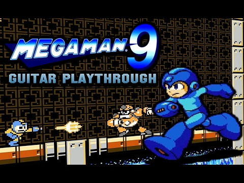 Concrete Man - Mega Man 9 Guitar Playthrough (part 2)