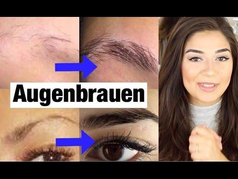Augenbrauen Schneller Voller Wachsen Anwendung Tipp Gana Khalana