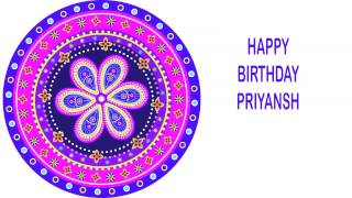 Priyansh   Indian Designs - Happy Birthday