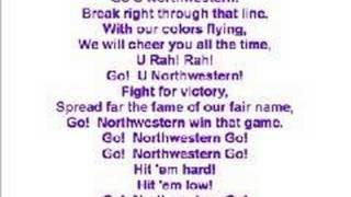 Northwestern Fight Song
