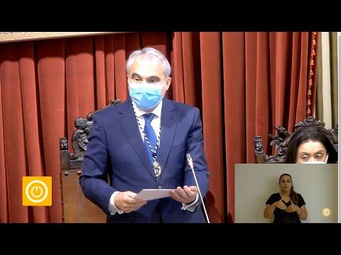 Dimite el alcalde de Badajoz para cumplir el pacto con Cs