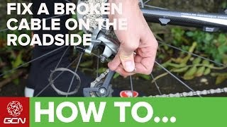 How To Fix A Broken Gear Cable On Your Bicycle - GCN