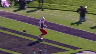 Martinez Finds Spielman for the Score vs. Northwestern