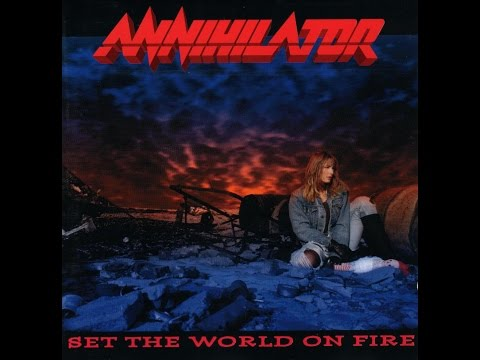 Annihilator  Set the World on Fire Full Album  1993