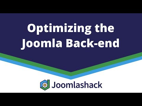 Optimizing The Joomla Back-end With Peter Martin