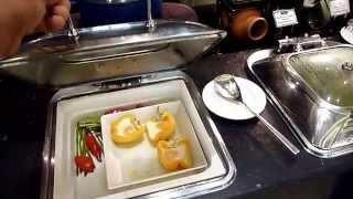 Rixos Bab Al Bahr - snídaně