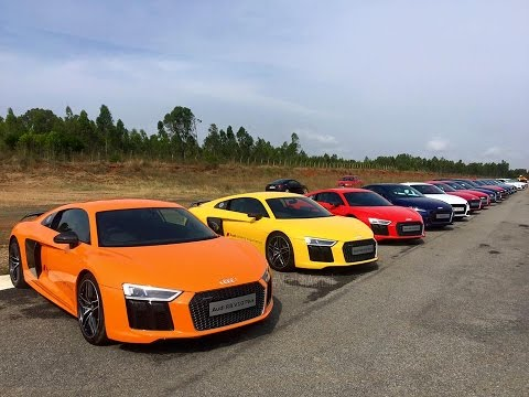 Audi Driving Experience Event 2016 on an Airstrip | Hosur | India