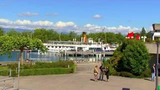Лозанна на Женевском озере(Лозанна-столица кантона Во в Швейцарии., 2011-06-20T11:25:48.000Z)