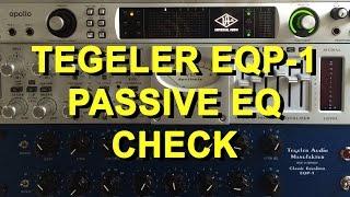 Passive EQ Test 1 - Tegeler Audio Manufaktur EQP-1