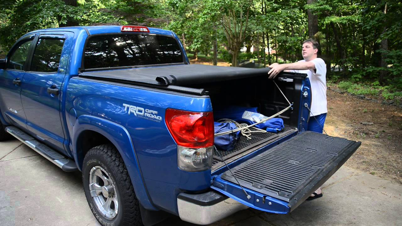 807295fe2b2 Truxedo Truxport Vinyl Bed Cover Toyota Tundra CrewMax 5.5 ft Bed ...