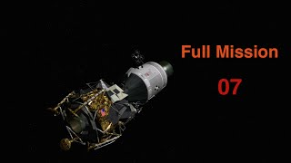 Apollo 16 - No Crew Conversations (Full Mission 07)