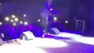 WIZKID GRAB TIWA SAVAGE BUMBUM WHILE PERFORMING IN PARIS  WATCH