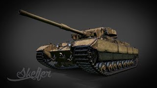 World of Tanks | Танки в ангаре - Caernarvon