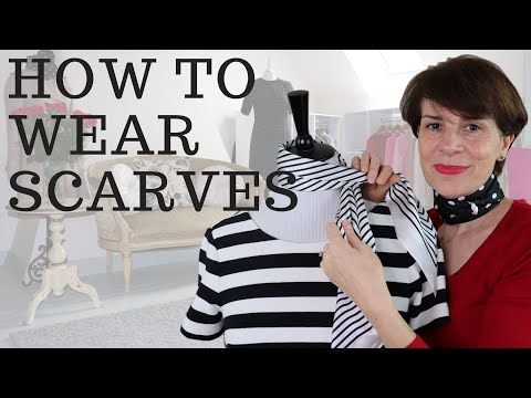 HOW TO WEAR SCARVES ⎢4 WAYS - YouTube