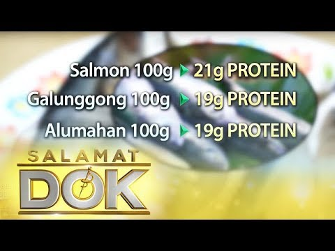 Salamat Dok: Nutritional Value Of Round Scad, Indian Mackerel, And Salmon