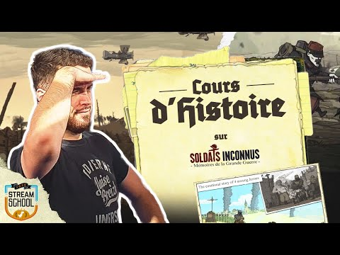 Cours D'Histoire Avec Rivenzi Et Romain Sur Le Jeu Soldats Inconnus | STREAM SCHOOL