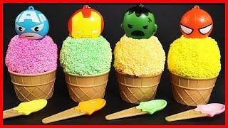 培樂多橡皮泥雪花黏土冰淇淋出奇蛋,超級英雄奇趣蛋玩具