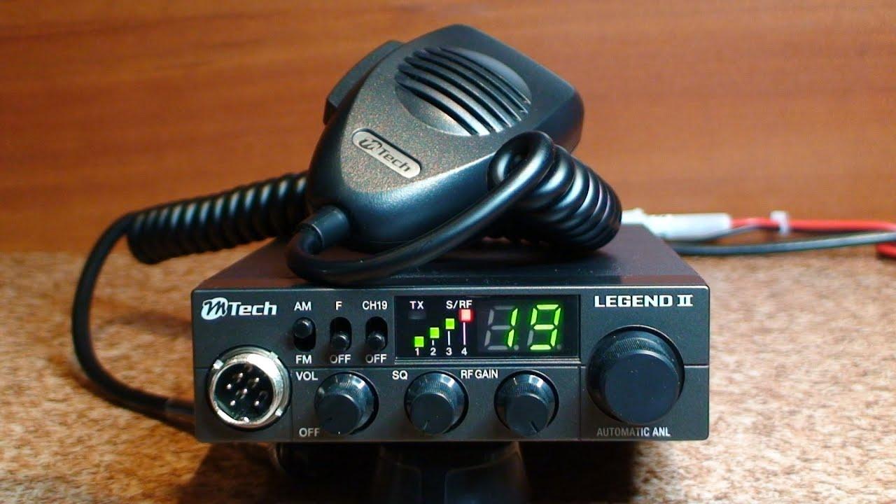 M Tech Legend II - Zanim kupisz cb radio - Test # 7 - YouTube