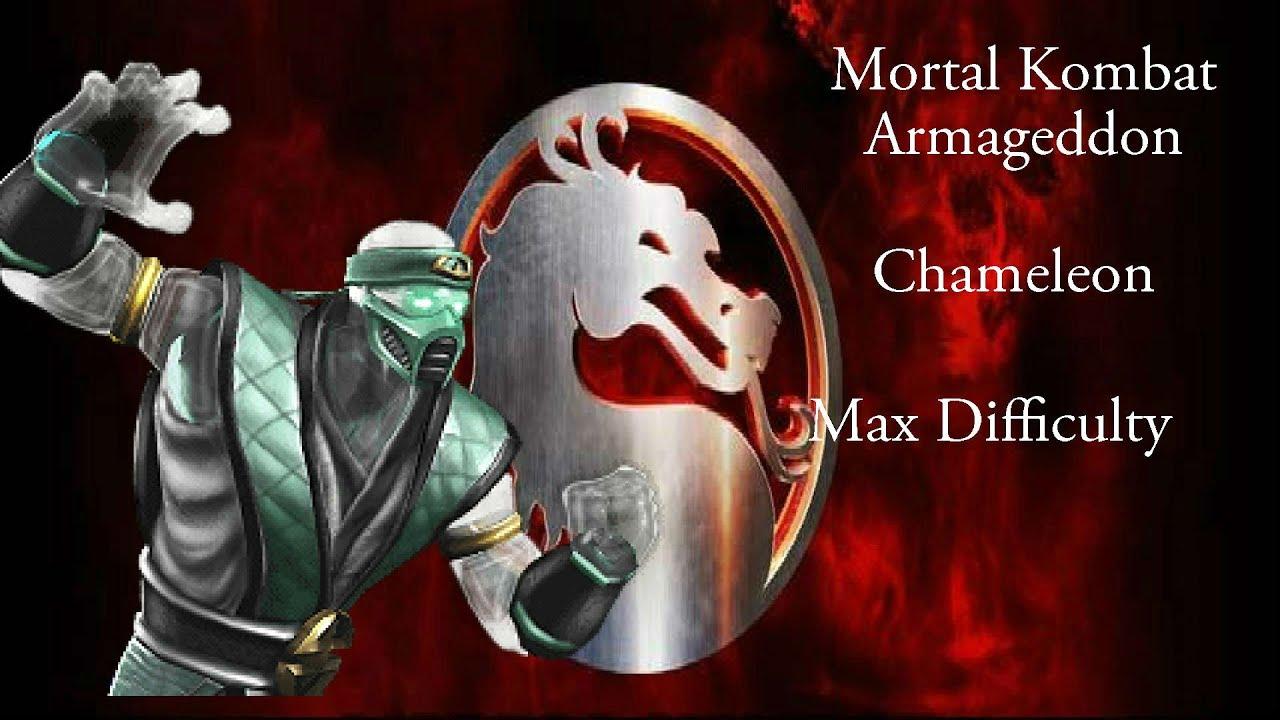 mortal kombat armageddon chameleon ending a relationship