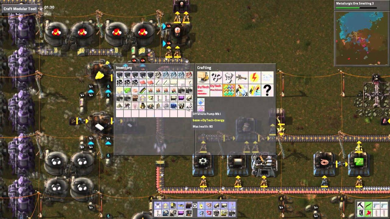Factorio Steam Engine - Year of Clean Water