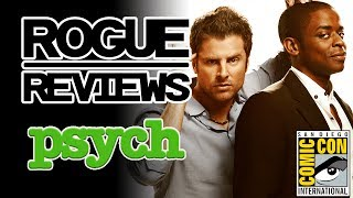 PSYCH: The Movie Comic Con Trailer Reaction | Rogue Reviews