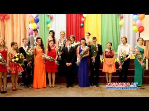Выпускной бал 2014 в кингисеппской школы № 5. Шарики в небо KINGISEPP.RU