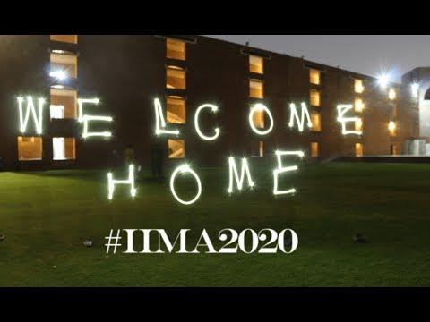 Welcome to IIM Ahmedabad, Batch of 2020