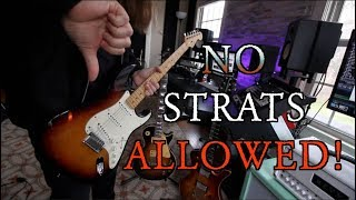 10 Riffs You Should Never Play On A Strat ... Played On A Strat! Video