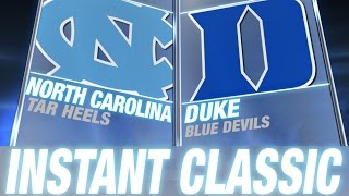 Instant Classic: North Carolina vs Duke Full Game | February 18, 2015 thumbnail