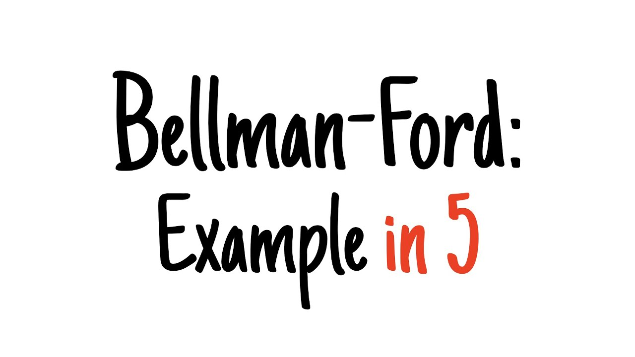 Cs223 advanced data structures and algorithms 1 the bellman-ford.