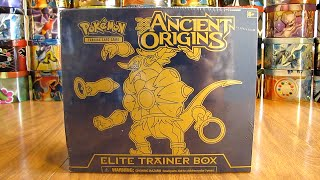 Hoopa Ancient Origins Elite Trainer Box Opening