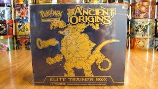 Hoopa Ancient Origins Elite Trainer Box Opening